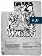 Humanos vs Monstruos - Diplomacia