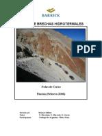 Curso de Brechas Hidrotermales, Richard Sillitoe