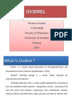 Raveno Amaral - 1111013058 - Ovidrel