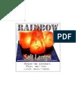 Rainbow Salt Lamp 1