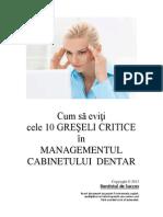 Managementul cabinetului dentar.pdf