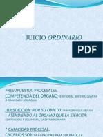Juicio Ordinario, Actual..
