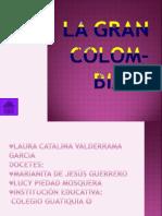 LA GRAN COLOBIA Laura Catalina 503