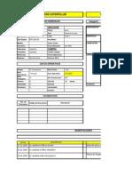 Mantenimiento Excel