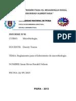 informe de microbiologia n° 2