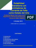 Estabilidad Transitoria Con Limitadores de Corriente de Falla Como Estado de Arte