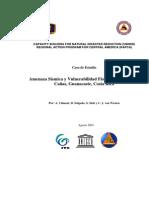 Amenaza Sismica en Canas Costa Rica
