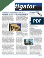 Litigator Fall 2013