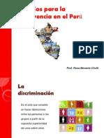 Desafíos para la convivencia en el Perú
