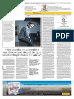 El Comercio - Posdata - Cecilia Barraza