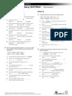 Vocabulary-EXTRA NI 3 Units 3-4 Revision