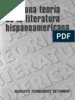 Roberto Fernandez Retamar - Para Una Teoria de La Literatura Hispanoamericana