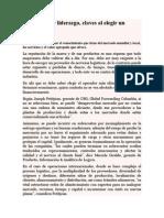 Articulos Logisticos Experiencia y Liderazgo - LA Cadena de Suministro Del Futuro
