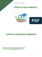 Apostila de Química Ambiental-2009-Maria Carolina