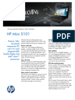 HP Mini 5101 Datasheet