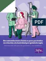 Toxicidad Quimioterapia LR