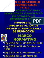 Marco Normativo Pdel