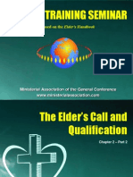 Chapter 2 the Elder's Call and Qualifications Part 2