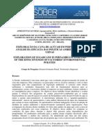 Exploração Da Cana-De-Açúcar Em Pernambuco - Análise Da Eficácia Das Politicas Ambientais Das Usinas