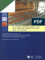 60 Year German Basic Law