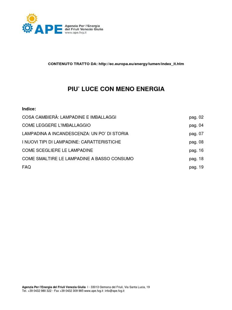 Lampadina A Incandescenza Storia guida lampadine.pdf
