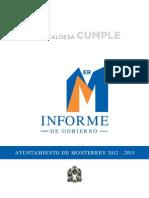 1er Informe de Gobierno