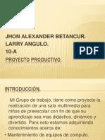 Copia de Proyecto Productivo.pptx