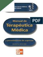 MANUAL DE TERAPÉUTICA MÉDICA