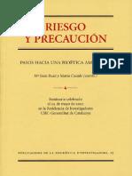 Libro Riesgo y Precaucion