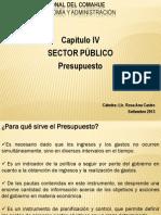 Economia I - 2013. Presupuesto