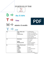 PREPOSITIONS OF TIME .doc
