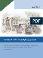 SSLS_Handbook on Community Engagement
