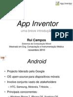 App Inventor Uma Breve Introducao