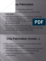 Chip Fabrication