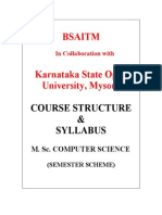 M.ssyllabus for M. Sc. Computer Science[1]