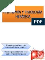 Anatomía y Fisiología hepatica