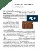 Transferencia Térmica en una Placa de Cobre.pdf