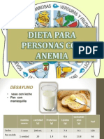 Dieta Para Personas Con Anemia