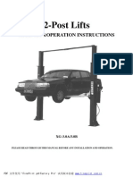 Manual Elevador 2 Columnas XG-3