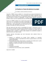 Modelo de Project Charter Ou Termo de Abertura de Um Projeto