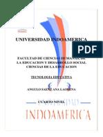 Tecnologia Edutativa 3.1 Lorena Angulo