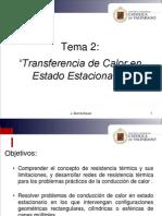 Tema 2. Transferencia de Calor en Estado Estacionario