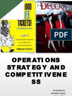 Oper Ati Ons St Rat Eg y an d Comp