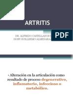ARTRITIS DEGENERATIVA