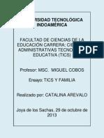 Actividad 3.1. Catalina Arevalo Tecnologia Educativa