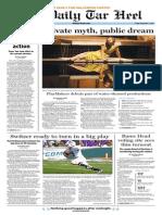 The Daily Tar Heel for November 1, 2013