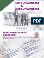 2-3 Teori Organisasi Komunikasi