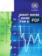 OMS Europe - Night Noise Guidelines