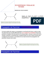 Amplitud de Dispersion y Reglas de Feyman