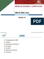 Sesion 14.1 - Sistema Operativo UNIX - Linux